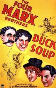 """Film poster for """"Duck Soup"""" (1933)"""