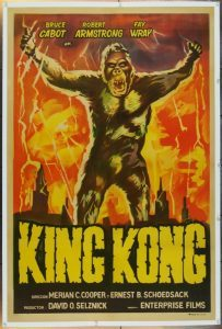 "Film poster for ""King Kong"" (1933)"