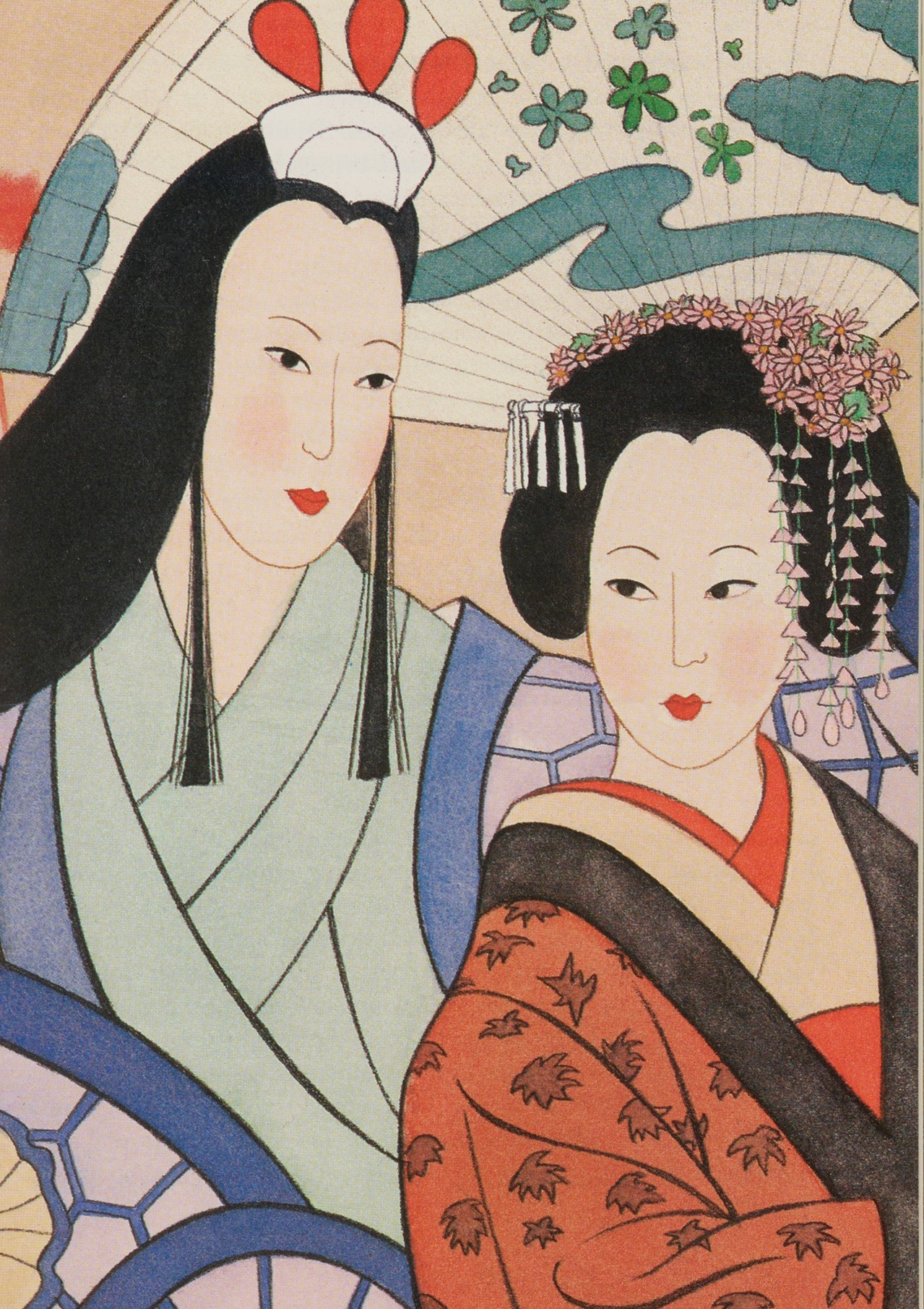 Lady Murasaki Shikibu and Sei Shonagon in Japanese Portraits, by Dorothy and Thomas Hoobler, illustrated by Victoria Bruck. 1994.